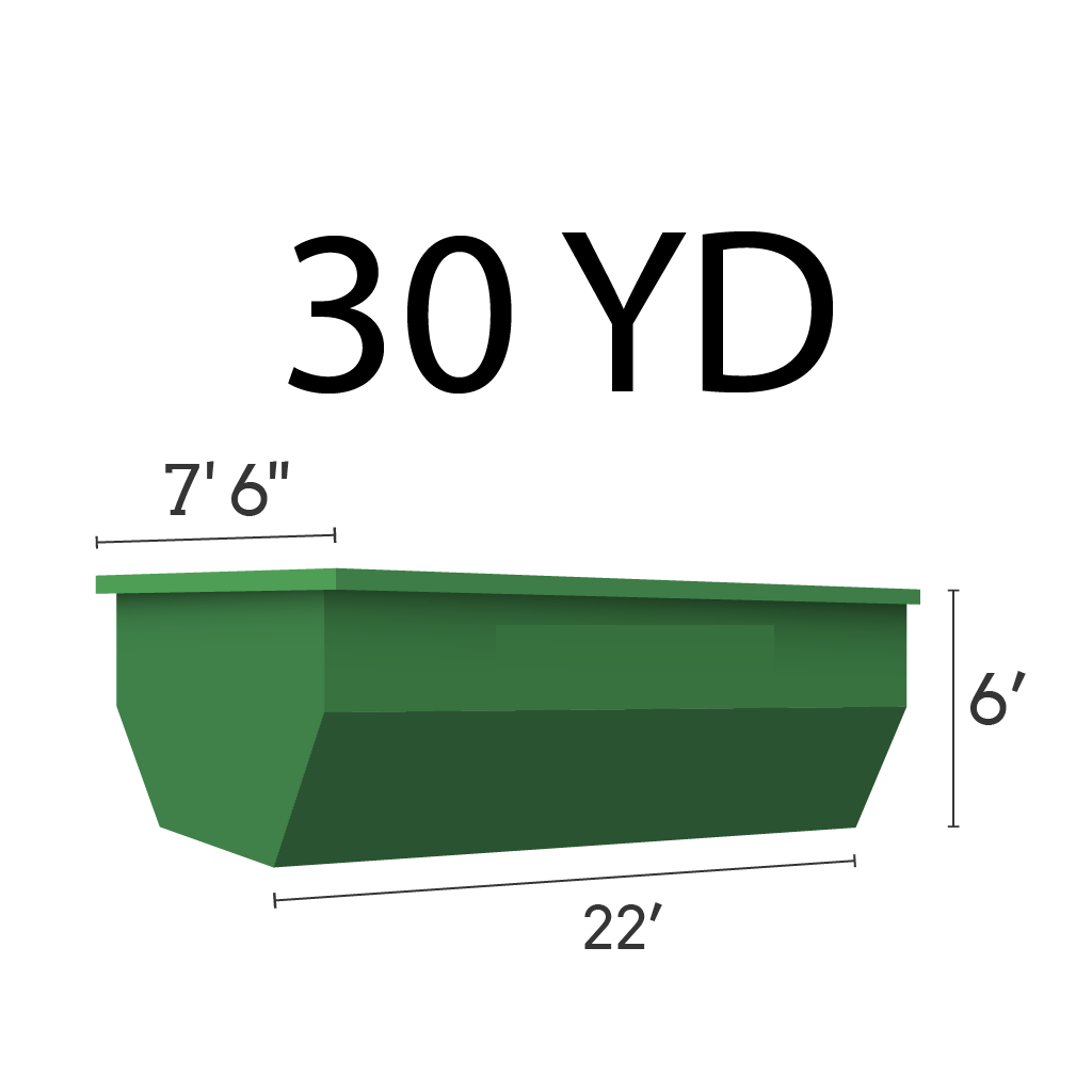 Image of dumpster: 30YD Roll-Off